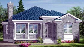 House Plan 52410 Elevation