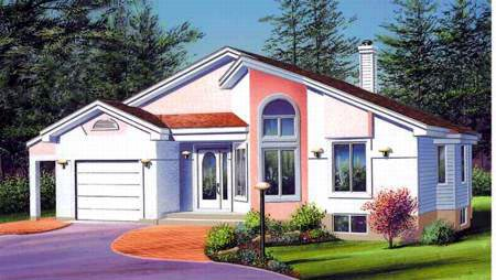 House Plan 52412 Elevation