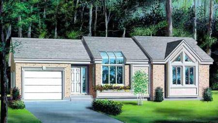 House Plan 52414 Elevation