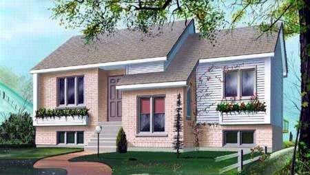 House Plan 52415 Elevation