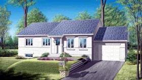 House Plan 52420 Elevation