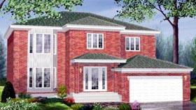 House Plan 52436 Elevation