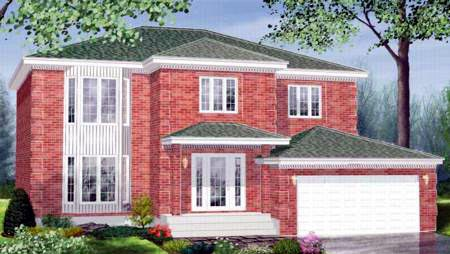 House Plan 52436 Elevation