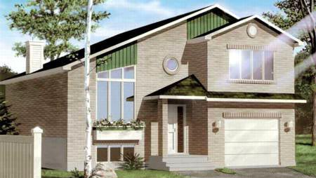 House Plan 52437 Elevation