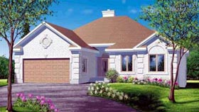House Plan 52442 Elevation