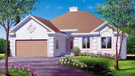 House Plan 52442 Elevation