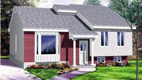 House Plan 52443 Elevation