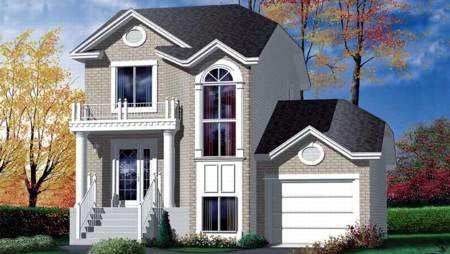 House Plan 52444 Elevation