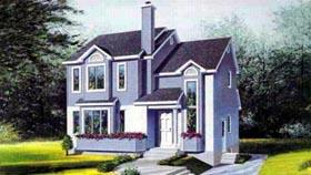 House Plan 52445 Elevation
