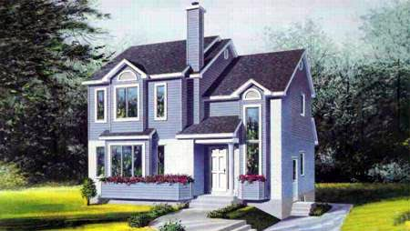 House Plan 52445 Elevation
