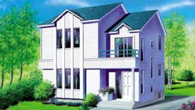 House Plan 52447 Elevation