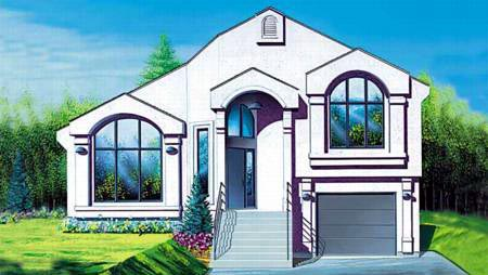 House Plan 52449 Elevation