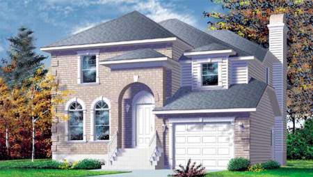 House Plan 52450 Elevation