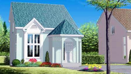 House Plan 52451 Elevation