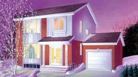 House Plan 52452 Elevation