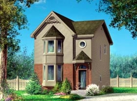 House Plan 52458 Elevation