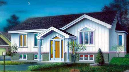 House Plan 52460 Elevation