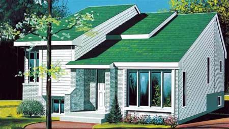 House Plan 52461 Elevation