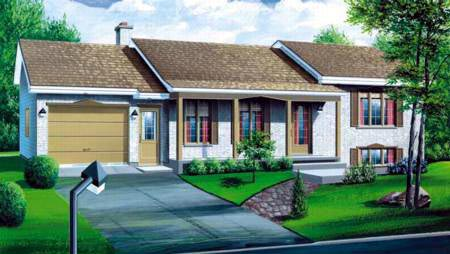 House Plan 52464 Elevation