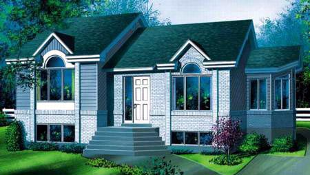 House Plan 52465 Elevation