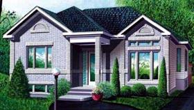 House Plan 52467 Elevation