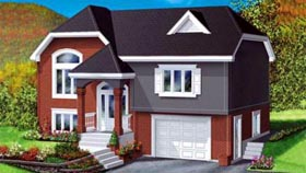 House Plan 52469 Elevation