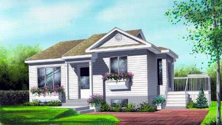 House Plan 52472 Elevation
