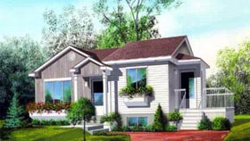 House Plan 52473 Elevation