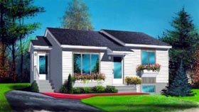 House Plan 52475 Elevation