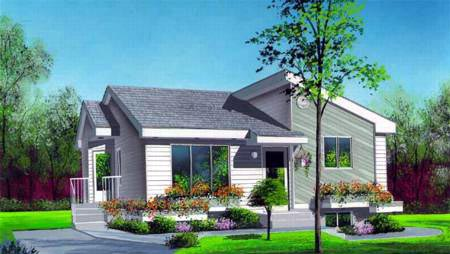House Plan 52476 Elevation