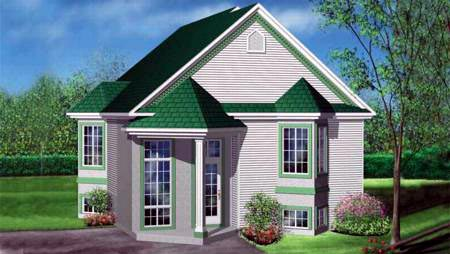 House Plan 52477 Elevation