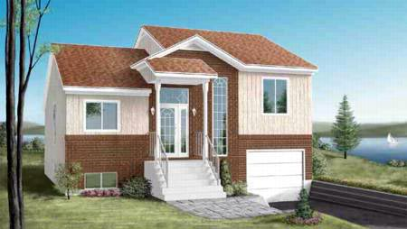 House Plan 52479 with 2 Beds, 2 Baths, 1 Car Garage Elevation