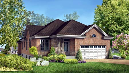 House Plan 52486 Elevation