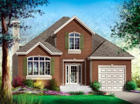 House Plan 52489 Elevation