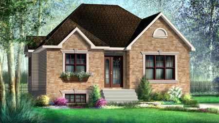 House Plan 52497 Elevation