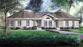 House Plan 52505 Elevation