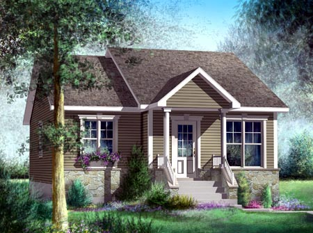 House Plan 52506 Elevation