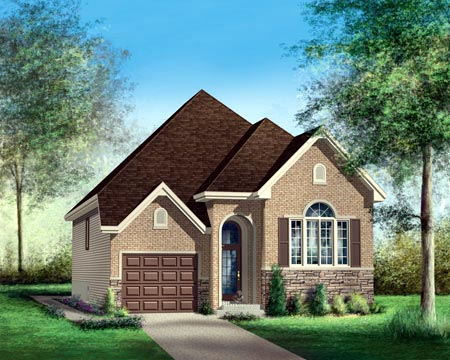 House Plan 52507 Elevation