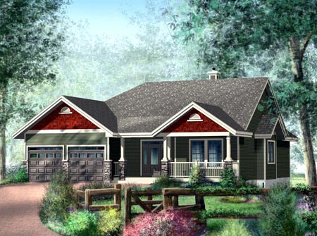 House Plan 52511 Elevation