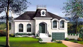 House Plan 52514 Elevation