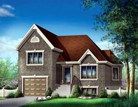House Plan 52518 Elevation