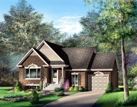 House Plan 52521 Elevation