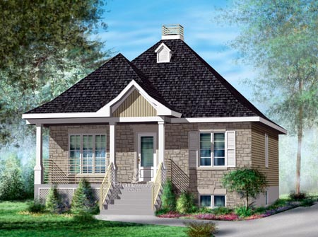 House Plan 52522 Elevation