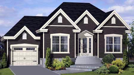 House Plan 52525 Elevation