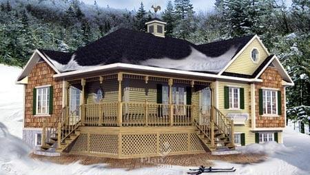 House Plan 52529 Elevation