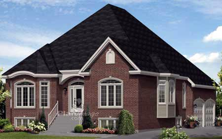 House Plan 52533 Elevation