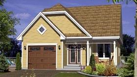 House Plan 52534 Elevation