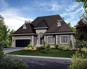 House Plan 52536 Elevation