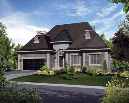 House Plan 52536 Elevation