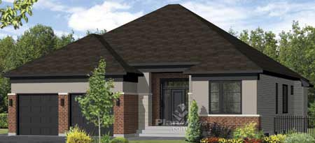 House Plan 52539 Elevation